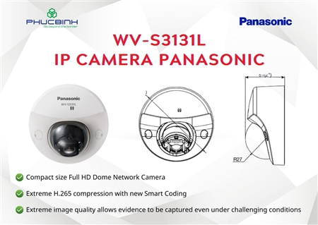 Camera Panasonic WV-S3131L